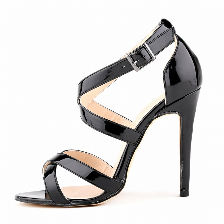Lolan Tiffen genuine European and American summer sandals fine with open toe sexy high heels stereophonics call us what you want but don t call us in the morning
