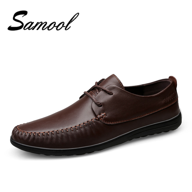 Genuine Leather Mens Moccasin Shoes Black Men Flats Breathable Casual Italian Loafers Comfortable Plus Size 37-46 Driving Shoes handmade men flats shoes plus size loafers moccasins genuine leather mens casual driving shoes soft breathable comfortable flats