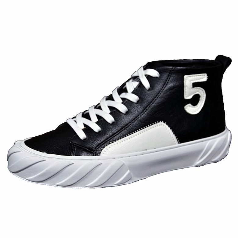 De Hombre Top 02 Y Hip Calle Negro Estilo Moda Zapatillas Blanco Pisos  Correa Deporte Alta Hombres 2019 Plataforma Banda Hop Zapatos ... fee68d5e440