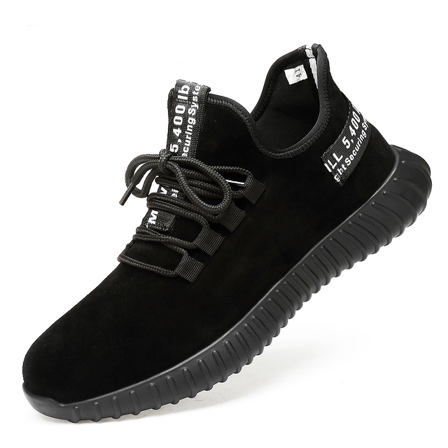 Safety Shoes Men's Steel Toe Lightweight Anti-smashing Unisex Work Sneakers breathable wear-resisting  Both men and women