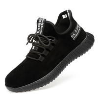 Safety Shoes Men's Steel Toe Lightweight Anti smashing Unisex Work Sneakers breathable wear resisting Both men and women
