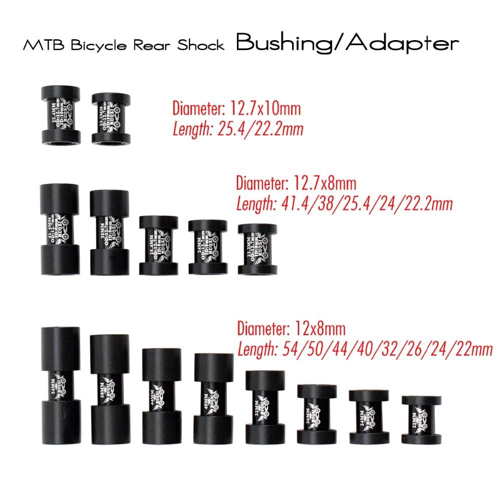 15 моделей AL 7075, полный подвесной горный велосипед, задний амортизатор, адаптер, точечная втулка, MTB велосипедный задний амортизатор, втулка