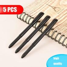 Deli 5/10 PCS pen holder Office Student Supplies Universal Gel Ball Refill Replacement Pen Tube Shell Black Case