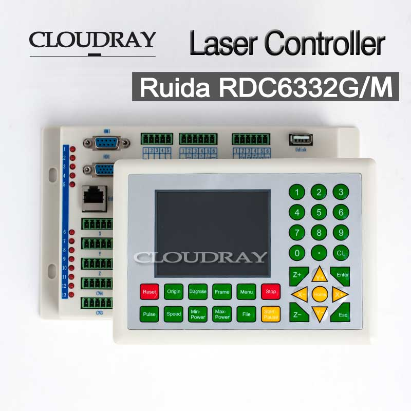 Co2 Laser DSP Controller For Laser Engraving and Cutting Machine RDC DSP 6332G 6332M CE RoSH Certificate RDC6332G