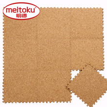 Meitoku EVA Form Puzzle Play Mat,Cover Natural Cork Tiles,Rug and carpet,Soft ,Safety Each:32x32cm, 9pc/bag ,[No edge](China)