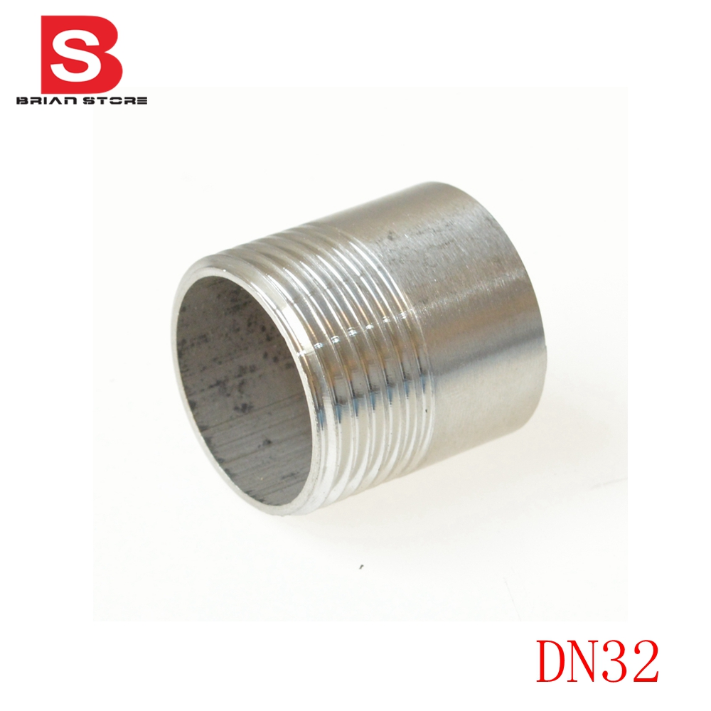 Dn bsp male equal straight welding nipple joint