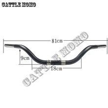 Руль мотоцикла из алюминиевого сплава, руль 25 мм для XL883 1200X48 Dyna Road King Night Rod, специальная рукоятка