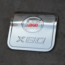 Stainless steel Stickers fuel tank cover for LIFAN X60 2011 2012 2013 2015,Free shipping car-styling oil cap protect trim cover недорого