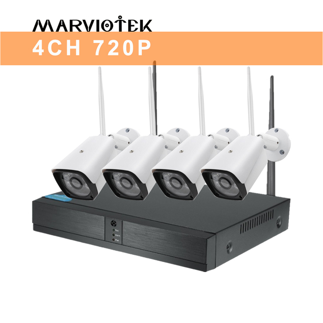 4CH 720P NVR Kits Home camera system 5c64b43a3969b