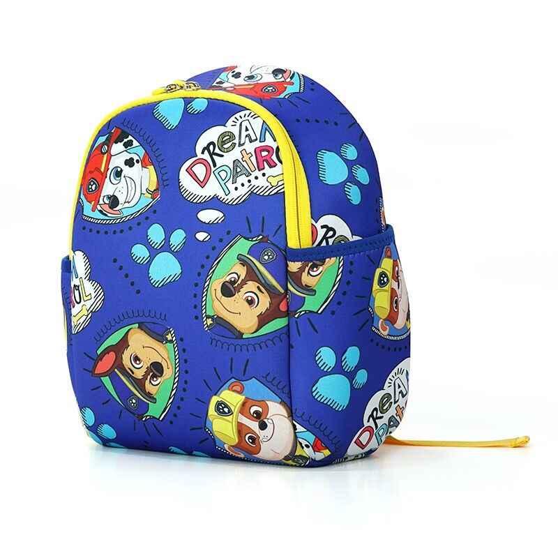 2020 La Patrulla Canina auténtica impermeable de la bolsa mochila de los niños de la muñeca de los niños de la escuela bolso mochila infantil bolso del bebé juguete de los niños