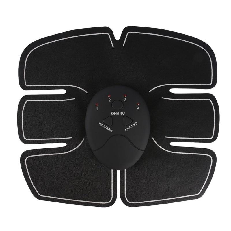 Wireless Muscle Stimulator EMS Stimulation Body Slimming Machine Massager Abdominal Muscle Exerciser Weight Loss Training Device