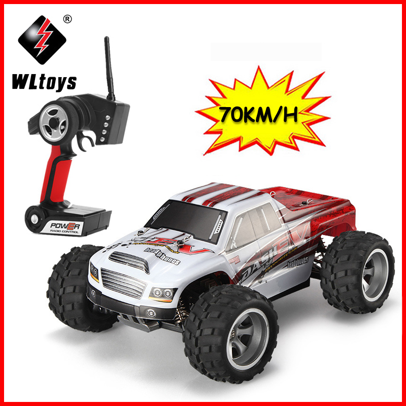 70KM/H,New Arrival 1:18 4WD RC Car Wltoys A979-B 2.4G Radio Control High Speed Truck RC Buggy Off-Road VS Wltoys A959 Truck
