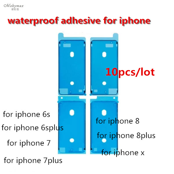 Waterproof Sticker For iPhone 6S Plus 6S 7 7 8 Plus X Front Housing LCD Touch Screen Display Frame Adhesive Glue Tape Sticker
