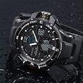 Moda Masculina Relógio À Prova D' Água LED Esporte Militar relógio dos homens Quartzo Analógico Digital eletrônica Relógio Epozz relogio masculino