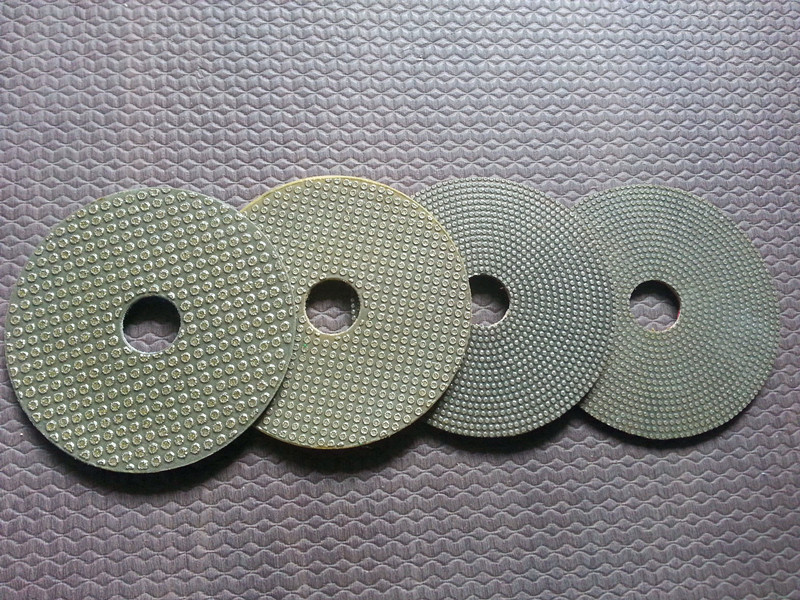 3 Inch Electroplated Diamond Polishing Pads(4PCS) For Polishing Granite, Marble, Concrete And Glass