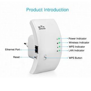 Image 2 - ワイヤレス無線 Lan リピータ無線 Lan レンジエクステンダー 300 150mbps のネットワーク Wi fi のアンプ信号ブースター Repetidor Wifi アクセスポイント