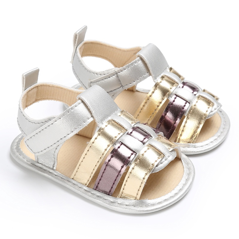 Baby Casual Stitching Boys Girls Sandals Comfortable High Quality Outdoor Baby Shoes Anti-slip