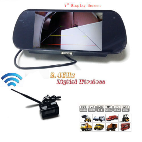 7 Digital Rear View Backup Reverse Camera System For Rv Truck