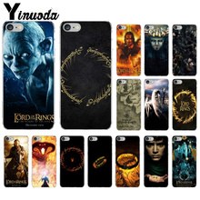 Yinuoda lord of the rings Movies  Coque Shell Phone Case for iPhone 7 7plusX XS MAX  6 6s  8 8Plus 5 5S SE XR фигурка funko pop movies lord of the rings – pippin took 9 5 см