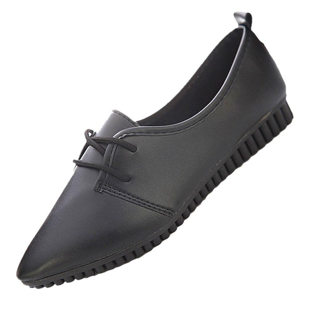 VSEN New fashion vintage women flat shoes black US4=EUR35=length 22.5CM imc vintage women flat shoes white us4 eur35 length 22 5cm