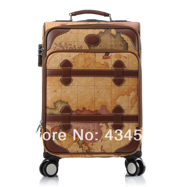 2014 hot sale women vintage universal wheel travel luggage20 24 2014 hot sale women vintage universal wheel travel luggage20 24 vintage suitcase on wheels gumiabroncs Image collections