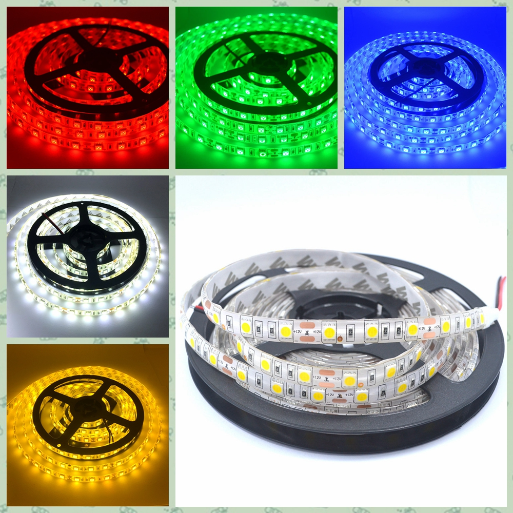 Tiras de Led 5 m 300 leds smd Emitting Color : White, Warm White, Red, Green, Blue, Yellow