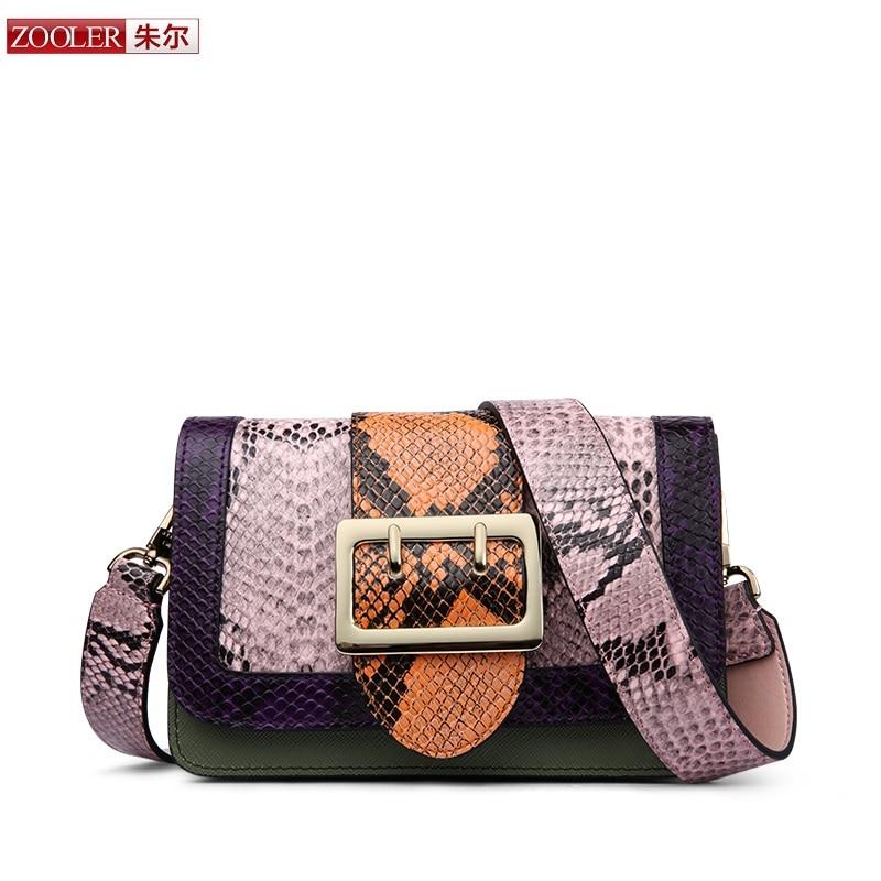ФОТО 2017 New&hot ZOOLER genuine leather bag patchwork women messenger bag luxury woman bag fashion stylish bag bolsa feminina #2956