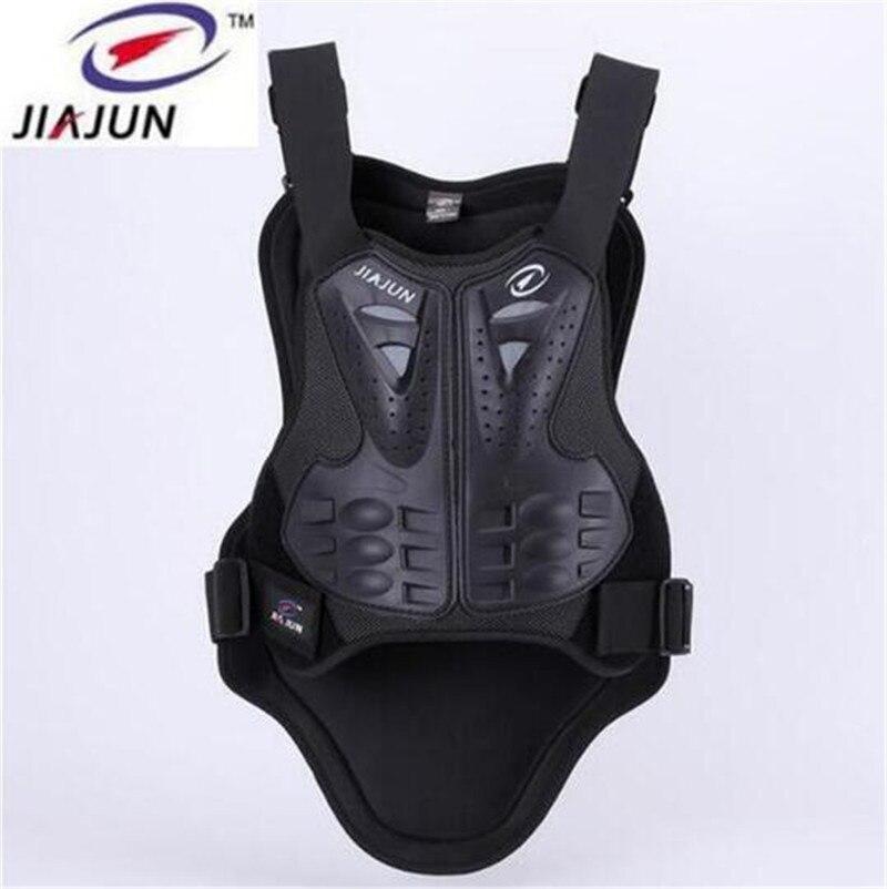 JIAJUN Motorcycle Racing Black Riding Body Protection Jacket Motocross Back