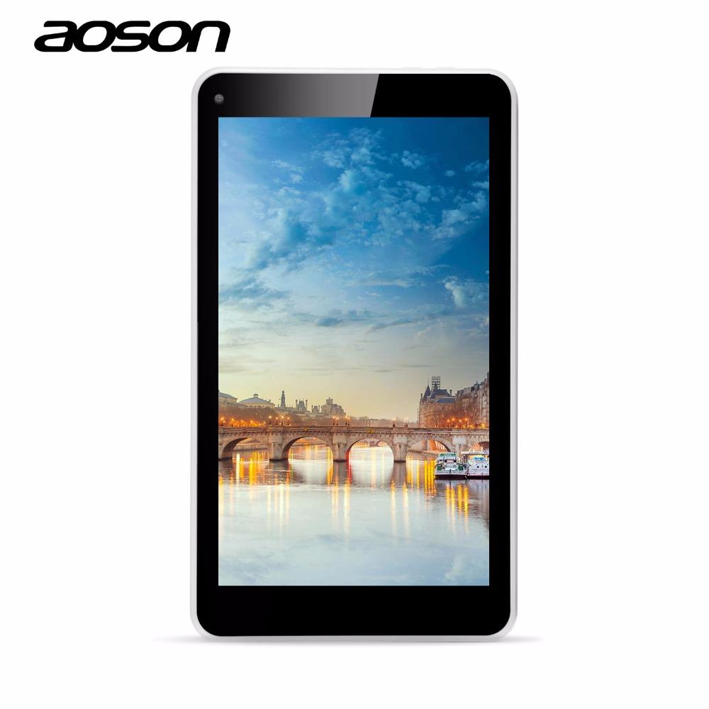 Prix pour AOSON Enfants Tablet M751S-BS 7 Pouce Allwinner A33 Quad Core Capacitif Écran tactile WIFI 3G Externe Android 4.4 8G ROM Tablet PC