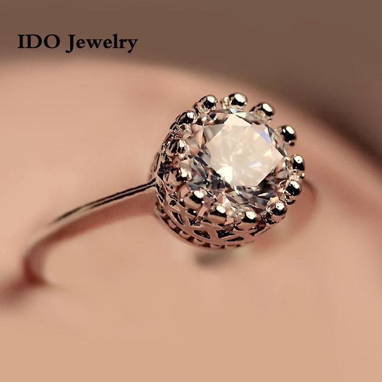 CZ diamond rings,top quality beautiful, 100% hand made fashion ...