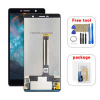 For Nokia 7 Plus LCD Display Touch Screen Glass Panel Digitizer Assembly With Tools