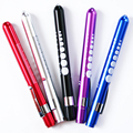 Colorful Mini Pocket Pen Light Torch Flashlight Medical Surgical Doctor Nurse Emergency Reusable Working Camping Light
