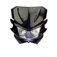 Universal Motorcycle Street Fighter Headlight Fairing Headlamp For Honda CR 125R 250R CRF 100F 150F XL250 Supermoto Enduro