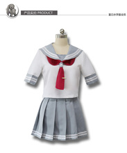 Anime love live Cosplay sol Aqours Cos Fiesta de Halloween Completo set3in1 (Top + Falda + Tie)