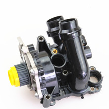 OEM 1.8T 2.0T Engine Auxiliary Cooling Water Pump Assembly For VW Passat CC Tiguan Jetta Golf A4 A3 A6 TT Seat Leon 06H 121 026 стоимость