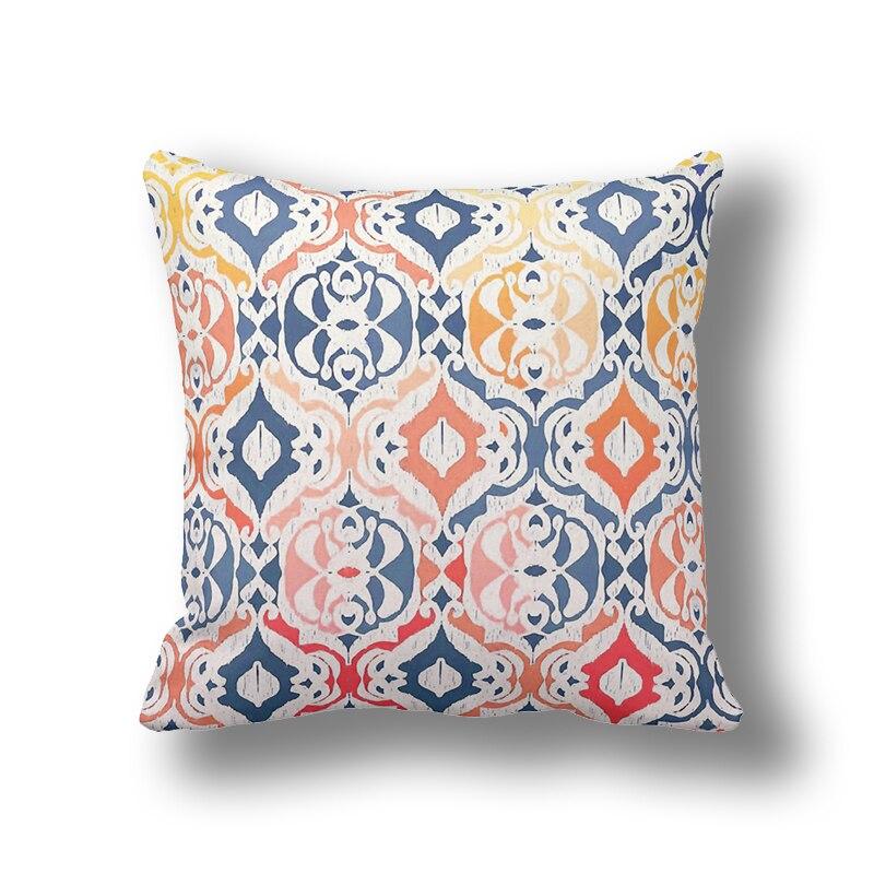 Ziemeļu Marokas lina spilvenu pārvalki 45x45cm, cilšu - Mājas tekstils