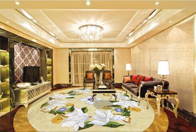 Europaischen Luxus Kreative 3d Boden Benutzerdefinierte Hd Tapete