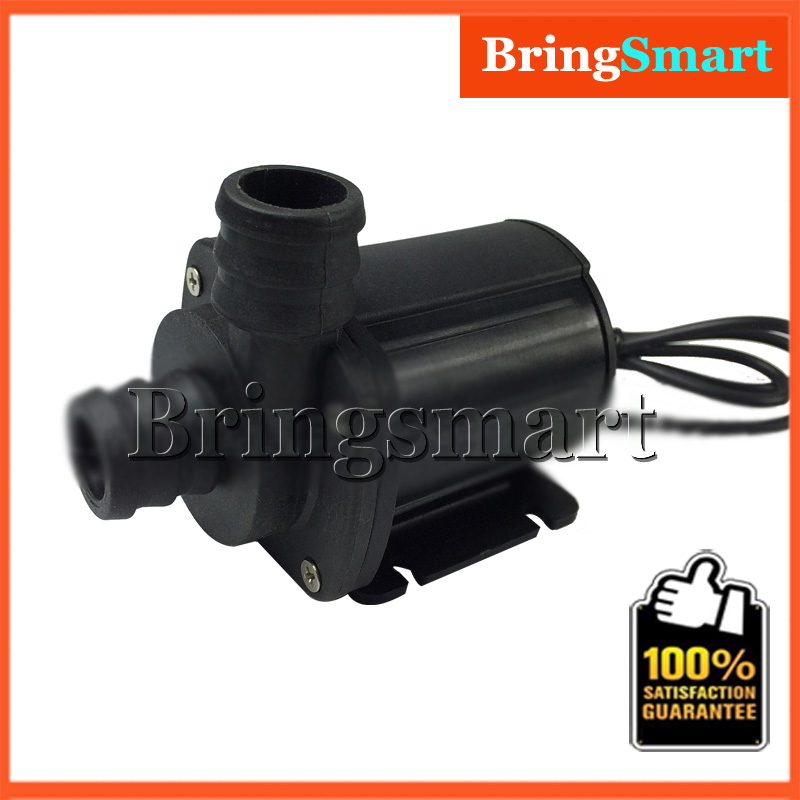 JT 1000A High Flow Rate 2000L H 5M Mini Booster Pump 12V DC Brushless Water Pump