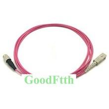Fiber Patch Cord Kabel FC SC SC FC Multimode OM4 Simplex GoodFtth 20 100m
