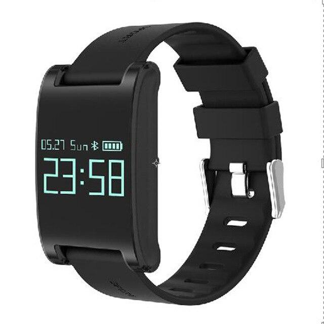 2017 new Smart Bracelet DM68 Smart Band Fitness Sleep Activity Tracker Blood Pressure Oxygen Heart Rate