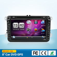 "New ! 8 "" 2din Car DVD for VW GOLF 5 Golf 6 POLO PASSAT CC JETTA TIGUAN TOURAN EOS SHARAN SCIROCCO TRANSPORTER T5 CADDY with GPS(China)"
