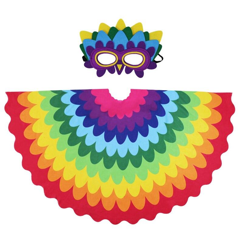 SPEZIELLE 120*70 cm Papagei Flügel Maske Mädchen Dance Sommer Camping Bühne Dance Konzert Zeigen Kostüm Kinder Geburtstag Party geschenk Spielzeug