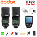 2X 1 TT600 Godox Sem Fio 2.4G X Sistema TTL/8000 s Transmissor de Flash Speedlite + Xpro-F gatilho Para Câmera Fuji Fujifilm