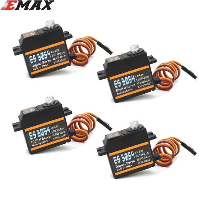 Emax ES3054 17g 3.5kg 0.13sec 23T Metal Gear Digital Servo For RC Airplane ES3154 Upgrade