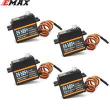 Emax ES3054 RC 비행기 ES3154 업그레이드를위한 17g 3.5kg 0.13sec 23T 메탈 기어 디지털 서보
