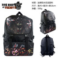 High quality 2016 New Five Nights At Freddy's Backpack Freddy Chica Foxy FNAF School Shoulder Bag