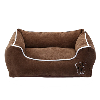 Pet Bed for Small Medium Large Dog Crate Pad Deluxe Soft Bedding Moisture Proof Bottom for All Seasons Puppy Dog House Pet Bed