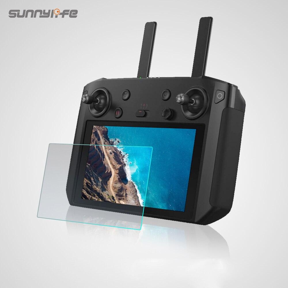 Sunnylife 5.5in画面保護フィルム強化ガラスフィルムdjiスマートコントローラmavic 2 プロ & ズームドローンプロテクター