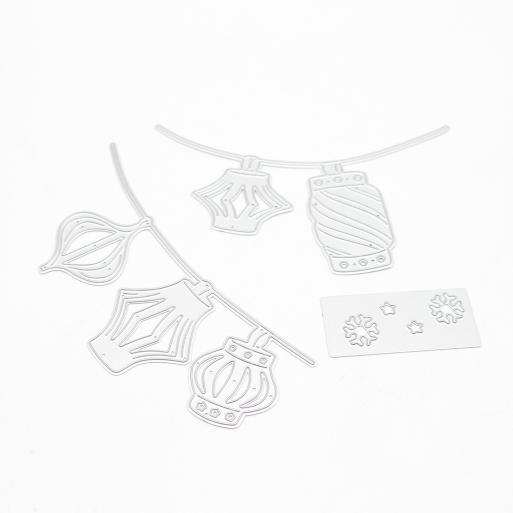Linterna China Metal Recortes de papel plantillas para DIY ...