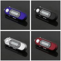 5PCS Mini USB 2.0 Flash Drive High Speed Transfer LCD Display MP3 Music Player